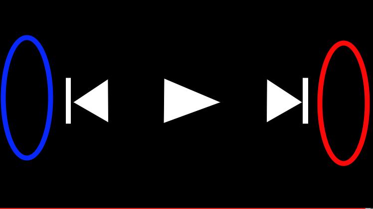 YouTubeの動画をスマホで10秒おきに早送り/巻き戻しする方法!